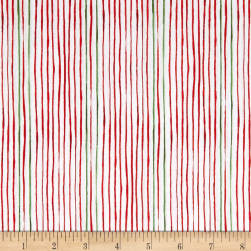 Andover Good Cheer Gift Wrap Holly Fabric