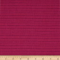 Andover Mariner Cloth Yarn Dyed  Woven Raspberry Fabric