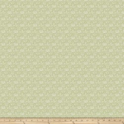 Miss Mustard Seed Bunnies Birds & Bloom Flower Box Lucketts Green Fabric