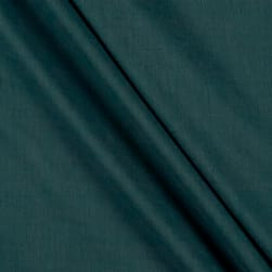 Birch Organic Solid Double Gauze Teal Fabric
