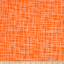 Andover Pick Up Sticks Melon Fabric