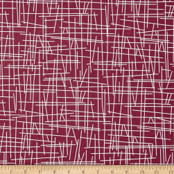 Andover Pick Up Sticks Mulberry Fabric