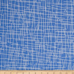 Andover Pick Up Sticks Blueberry Fabric