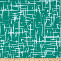Andover Pick Up Sticks Caribbean Fabric