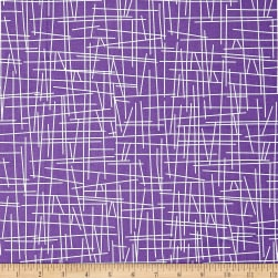 Andover Pick Up Sticks Hyacinth Fabric