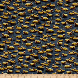 QT Fabrics Flying Geese Baby Geese Denim Fabric