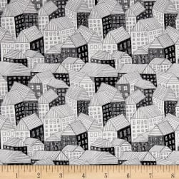Andover Around Town Abodes Film Noir Fabric