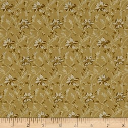 Andover Sequoia Buds and Vines Granite Fabric