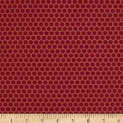 Andover Sequoia Berries Raspberry Fabric