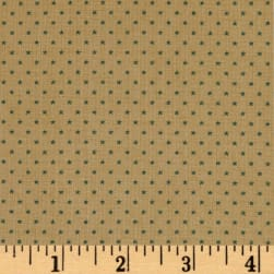 Andover Sequoia Stars Touch of Blue Fabric