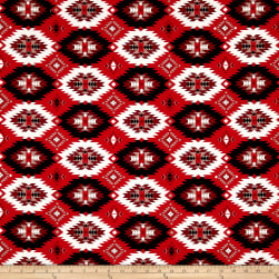 Thunder Spirit Thundercloud Red Fabric