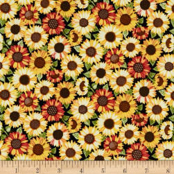 Andover/Makower UK Good Life Sunflower Multi Fabric
