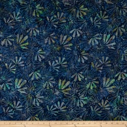 Timeless Treasures Tonga Batik Lush Tiki Royal