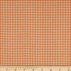Andover/Makower Counting Sheep Gingham Brown Fabric