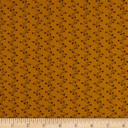 Andover Harvest Moon Smoke Yellow Fabric