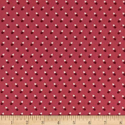 Andover Lottie Ruth Clubs Pink Fabric