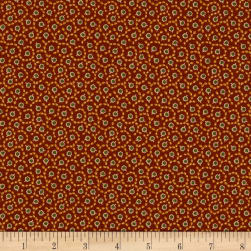 Andover Emma Buds Brick Fabric