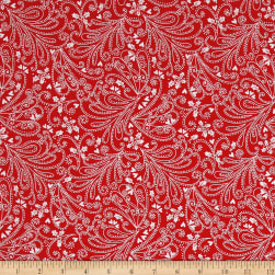 Michael Miller Hollywood Pixies Pixie Paisley Hollyberry Fabric