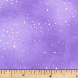 Michael Miller Fairy Frolic Pixie Dust Lavender Fabric