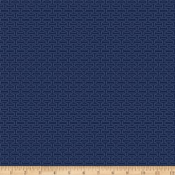 Riley Blake Hey Mister Good Boy Navy Fabric