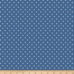Penny Rose Harry And Alice Star Navy Fabric