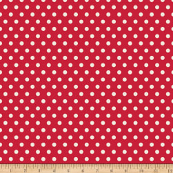 Penny Rose Harry And Alice Dot Red Fabric