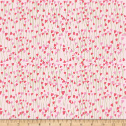 Riley Blake Simply Happy Vine Pink Fabric