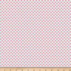 Penny Rose Petite Treat Geo Pink Fabric