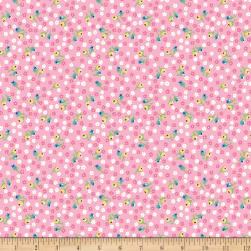 Penny Rose Petite Treat Floral Pink Fabric