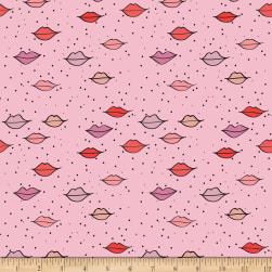 Riley Blake Kiss Me Kate Main Pink Fabric