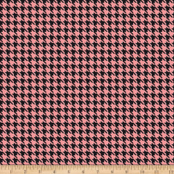 Kiss Houndstooth Coral