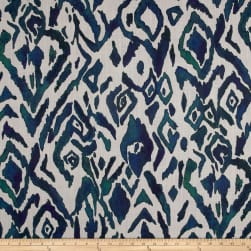Lacefield Designs Global Market Animal Ikat Exclusive Emerald