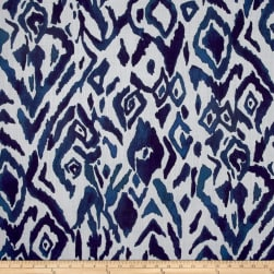 Lacefield Designs Global Market Animal Ikat Exclusive Indigo