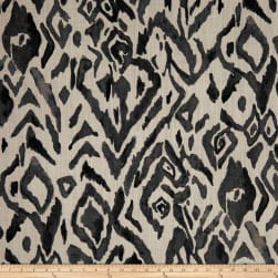 Lacefield Designs Animal Ikat Exclusive Smoke Fabric