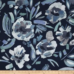 Lacefield Designs Vera Exclusive Indigo Fabric