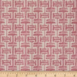 Lacefield Designs Watercolor Fret Exclusive Blush Fabric