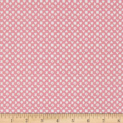 Riley Blake Hello Baby Shape Up Pink Fabric