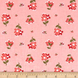 Riley Blake Summer Blush Posie Pink Fabric