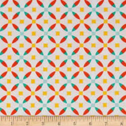 Riley Blake Jubilee Circle Pink Fabric