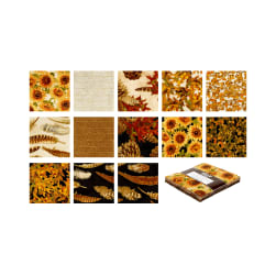 Kaufman Shades Of The Season Charm Squares Multi
