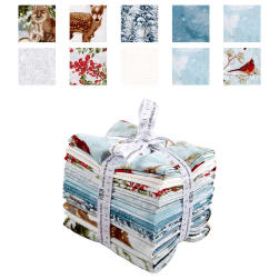 Kaufman Winter White 3 10 Pcs. Fat Quarters