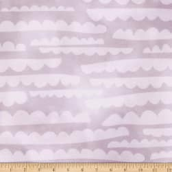 Kaufman Lou Lou Clouds Plum Fabric