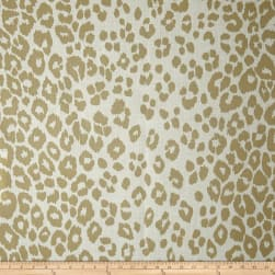 Schumacher Indoor/Outdoor Iconic Leopard Linen Fabric