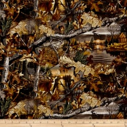 Realtree Lakeside Sunset Allover Fabric