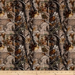 Realtree Hidden Deer Allover Brown Fabric