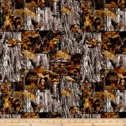 Realtree Lakeside Sunset Patchwork Allover Fabric