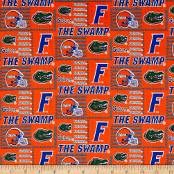 NCAA University of Florida Patch Logos Allover Fabric