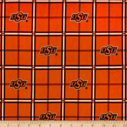 NCAA University of Oklahoma State Cowboys Flannel Plaid