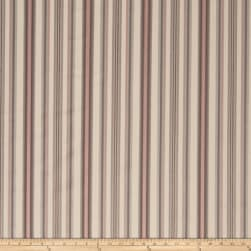 Fabricut Foxwood Stripe Cherry Blossom Fabric
