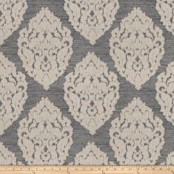 Trend 04448 Faux Silk Navy Fabric